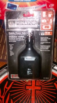 Eliminator power inverter for automobile.  London, N6J 4T3