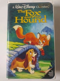 Black Diamond The Fox and the Hound vhs