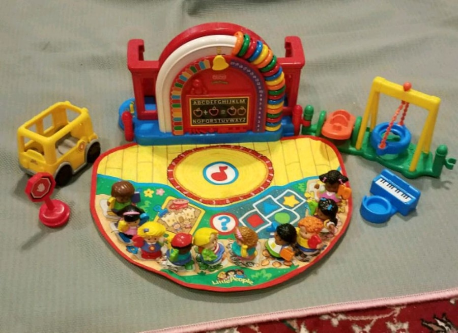Photo Little people time to learn preschool numbers playset