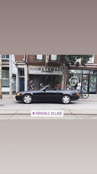 Beautiful Mercedes - r129  - 500SL - Early AMG Pkg. First Run 1990 Toronto