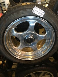 RARE FORGED LINE WHEELS 17 INCH STAGGERED 5x114.3 SUPER DISCOUNTED $1199.99  Indianapolis, 46227