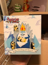 Adventure Time Nice King and Gunter figure Dutton, 35744