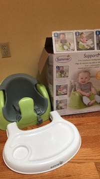 baby's white and green potty trainer Vaughan, L4J 5L6