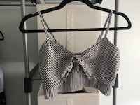 striped crop top Langley, V3A 8W1