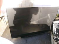 black LG flat screen TV 2397 mi