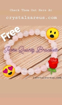 FREE Rose Quartz Bracelet *Limited time* Bronx, 10468