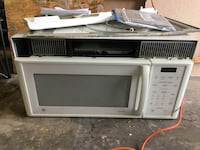white General Electric microwave oven Maple Valley, 98038