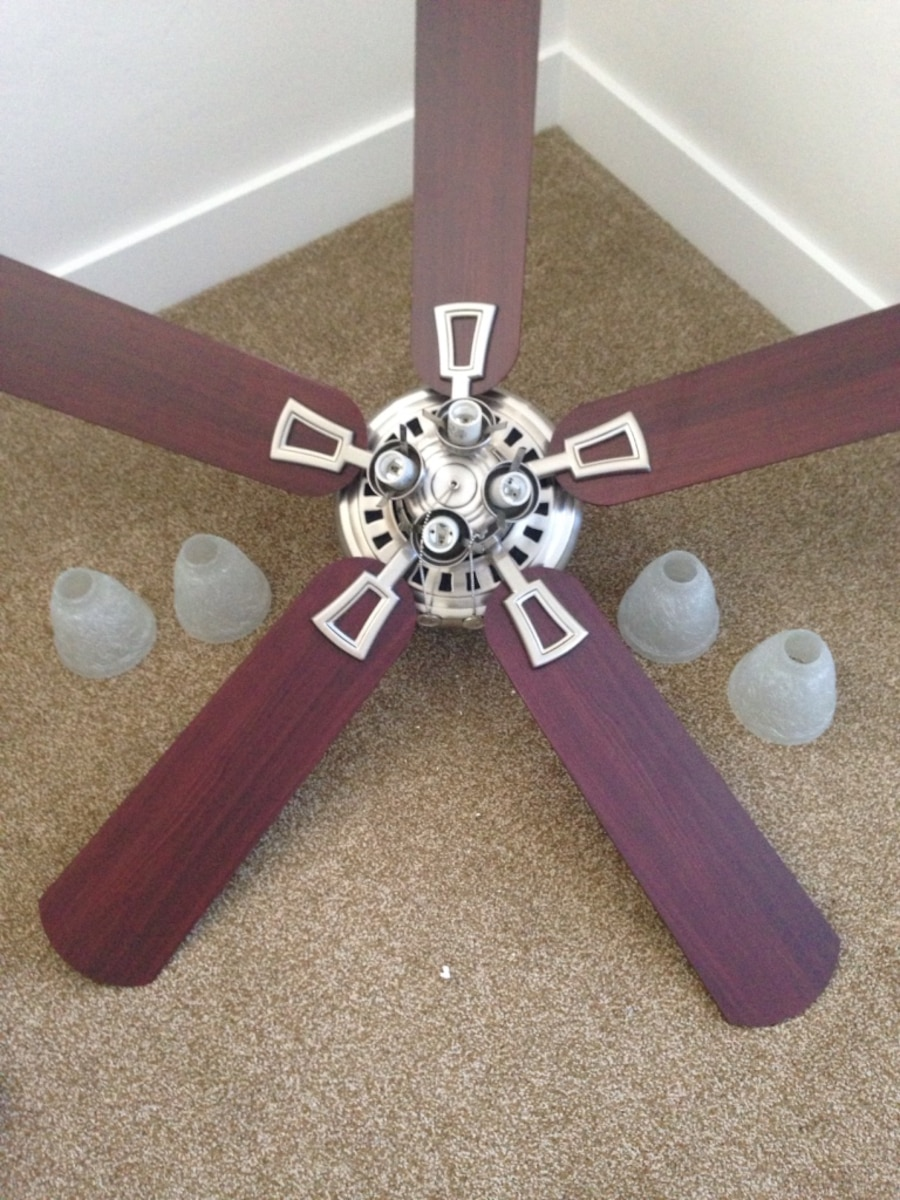 Used hampton bay ceiling fan model 52 cct in lighthouse point more info aloadofball Image collections
