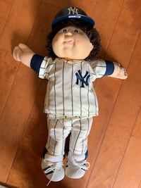 New York Yankees Cabbage Patch Doll.