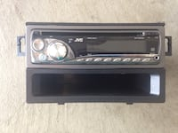 Black JVC 1-DIN head unit Pickering, L1V 6W7
