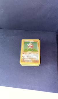 Stack of Pokemon cards