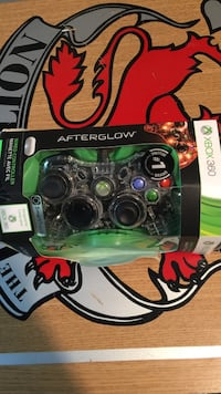 Xbox 360 wired controller afterglow red Montreal East, H1E 3L1