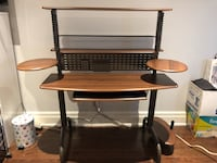 Wooden and Metal Computer Desk TRYING TO GET RID OF ASAP PRICE NEGOTIABLE Markham, L3P 6K5
