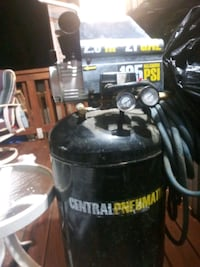 black and gray Central Pneumatic air compressor Germantown, 20876