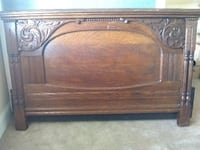 Vintage headboard and footboard fits full or queen bed Boca Raton