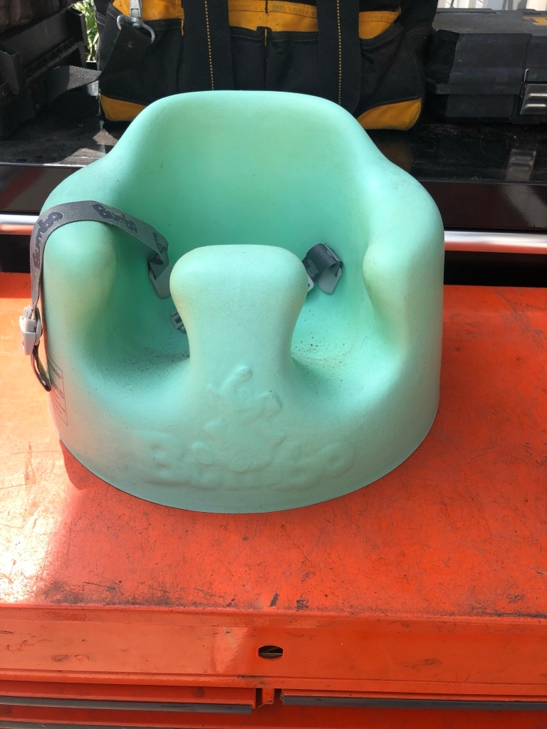 Other Good Condition Pink Bumbo Baby Seat With Tray
