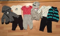 6 month clothing sets
