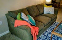 Olive Green Sofa  Vacaville, 95687