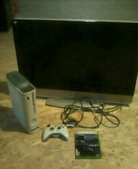 Xbox 360 w\ tv, controller, and halo 3 odst Castle Rock, 80108