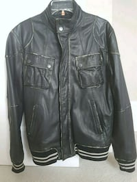 High quality italy leather jacket