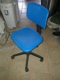 blue and black rolling chair 2274 mi