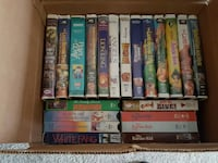 vhs tapes.. kids.. young adult.. 30+ titles 288 mi
