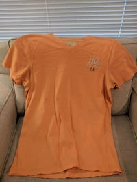 Men's orange t-shirt Pitt Meadows, V3Y 2J5