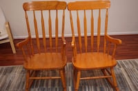 Two Rocking Chairs POTOMAC