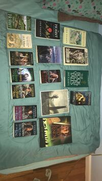 Lord of the rings book lot