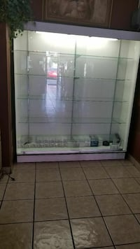 white and brown wooden display cabinet Huntington Park, 90255