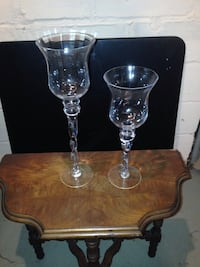 Glass candle holders Struthers, 44471