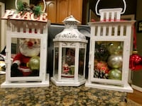 Holiday Lantern Decorations, new Burtonsville