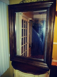 3x4 Heavy Wooden Wall Mirror San Juan, 78589