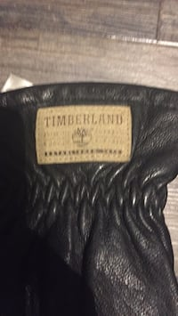 black Timberland leather glove Airdrie, T4B 1K5