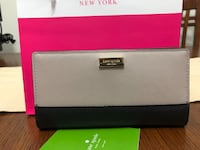 authentic kate spade wallet, almost new. tag and care card included.  no smell, no damage or stain. New Westminster, V3M