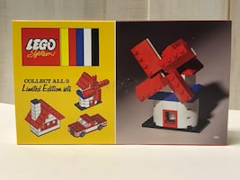 LEGO 60TH ANNIVERSARY WINDMILL SET