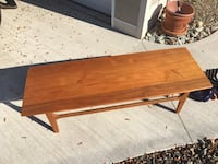 Immaculate Solid Teak Coffee Table  Oliver, V0H 1T4