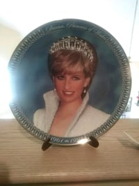 Diana Princess of Wales plate Moreno Valley, 92557