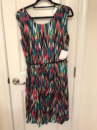 Calvin Klein Belted Dress - NWT 50 km