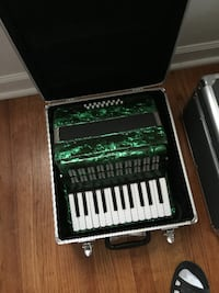 green and black electronic keyboard CINCINNATI