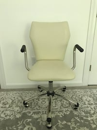 Pottery barn perforated office desk swivel chair Dunn Loring, 22027