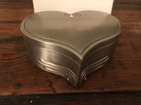 Heart silver box Arlington, 22202