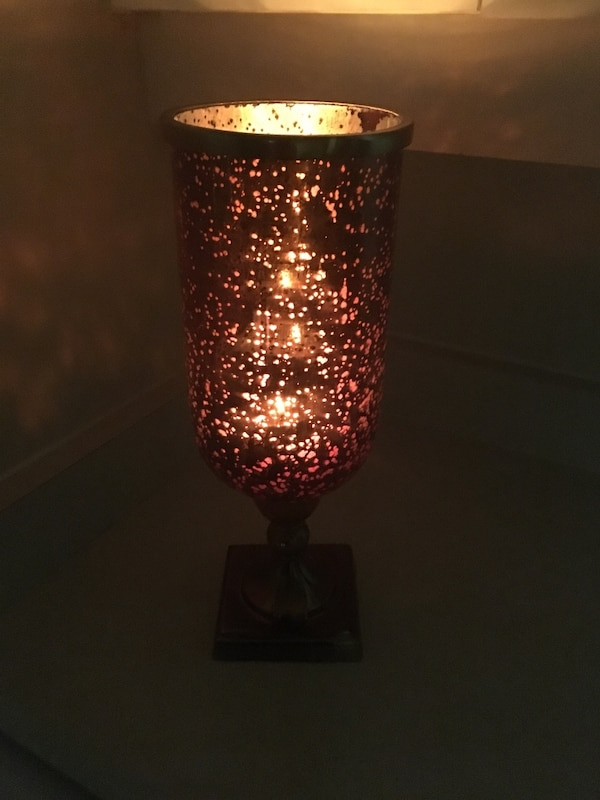 Bombay hurricane candle holder