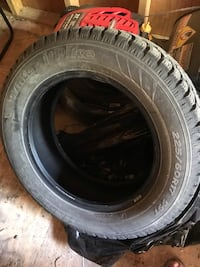Hankook 225/60R17  studded snow tire. Anchorage, 99516