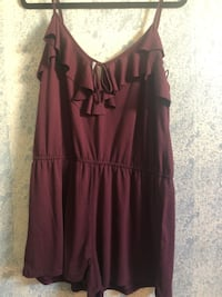 women's maroon spaghetti strap dress Long Beach, 90805