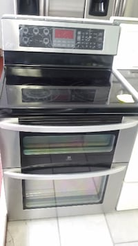 black and gray induction range oven MONTREAL
