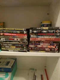Classic WWE, UFC, and boxing DVD's West Valley City, 84120