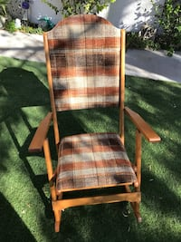 Vintage Clements Folding Tweed Antique Rocking Chair Las Vegas, 89130