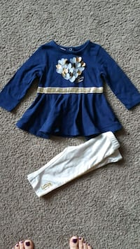 Juicy Couture outfit size 6-9 months Whitby, L1N 3C7