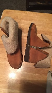 Clarks brand new brown suede boots Citrus Heights, 95610